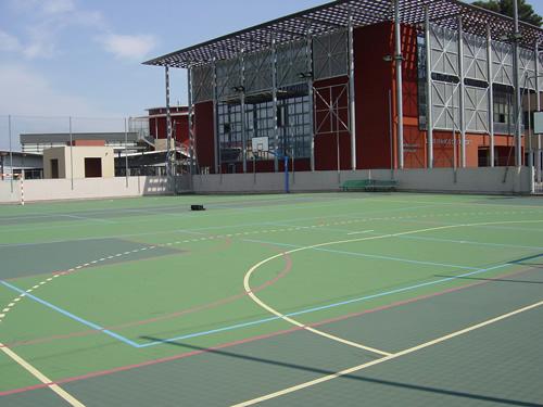 plateau sportif du LP DE CROISSET GRASSE